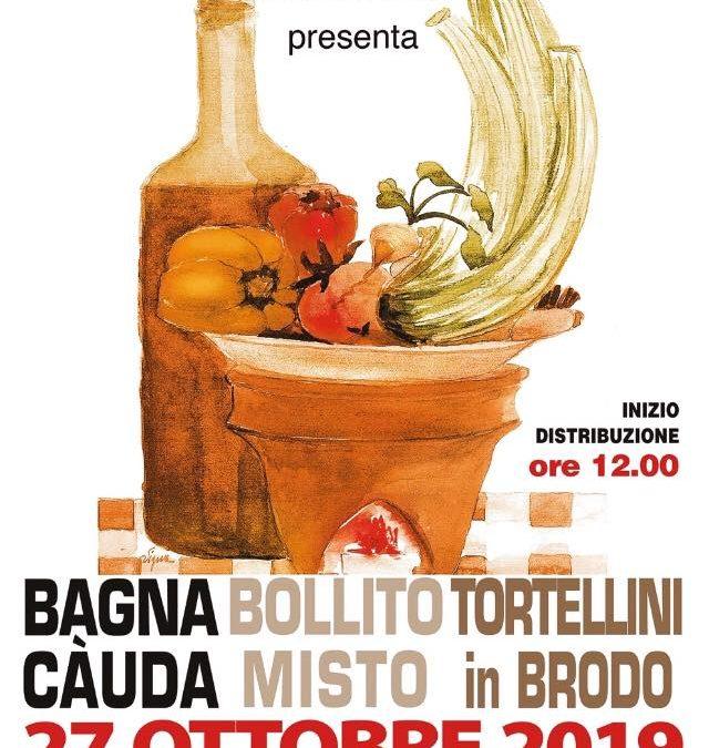 Bagna Cauda, Bollito e Tortellini – domenica 27 ottobre 2019