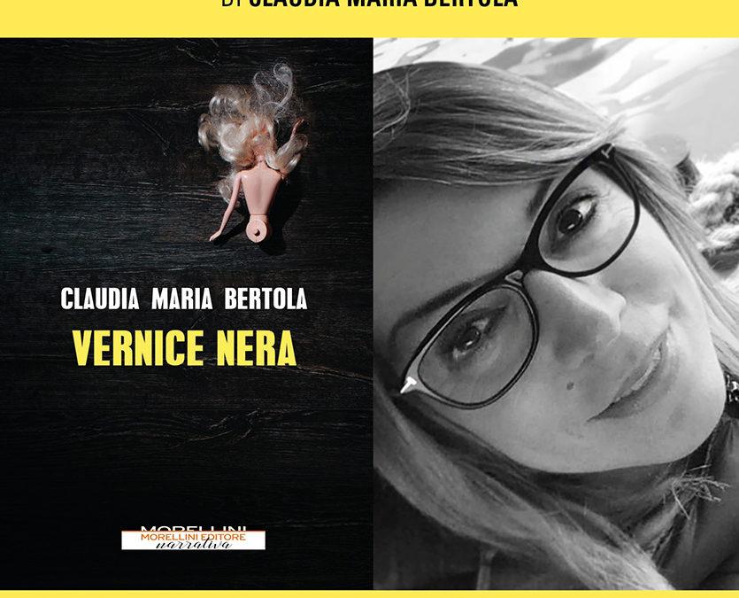 """Presentazione del libro """"Vernice Nera"""" di Claudia Maria Bertola – Sabato 26 ottobre 2019"""