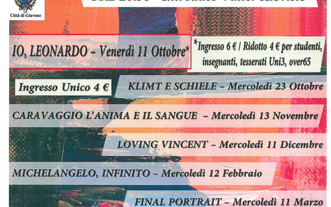 Cinema teatro San Lorenzo – Rassegna d'arte 2019/20