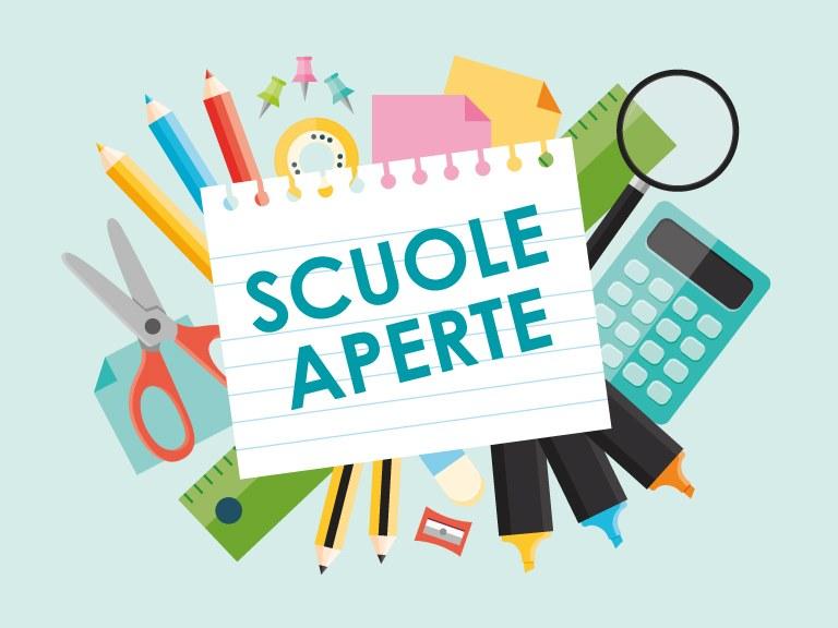 SCUOLE APERTE – LUNEDI' 25 NOVEMBRE 2019