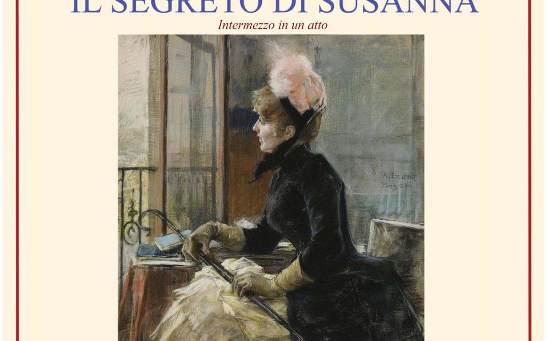 """Spettacolo """"Il Segreto di Susanna""""  – Unitre  –  sabato 21 dicembre 2019"""