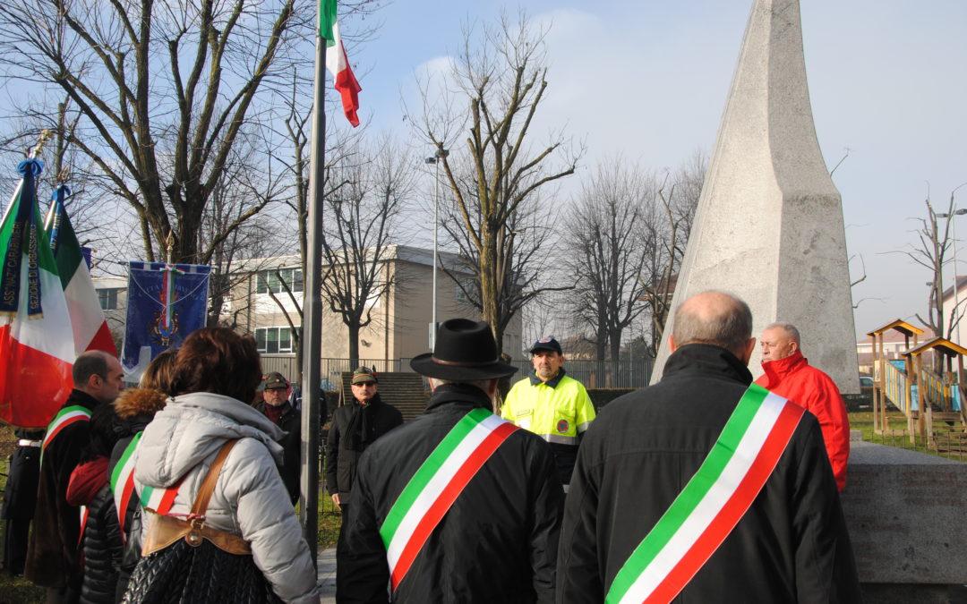 Orbassano domenica 12 gennaio 2020 – Commemorazione vittime del mitragliamento del trenino