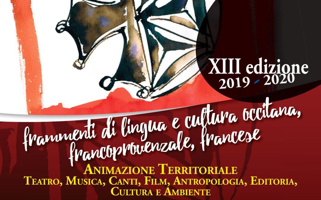 Chantar l'Uvern, eventi di lingua e cultura francoprovenzale, occitana e francese da dicembre ad aprile 2020