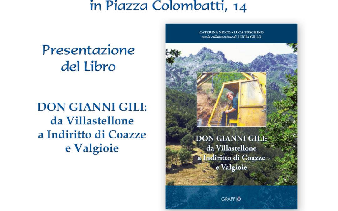 Presentazione libro Don Gianni Gili – Venerdì 27 dicembre 2019