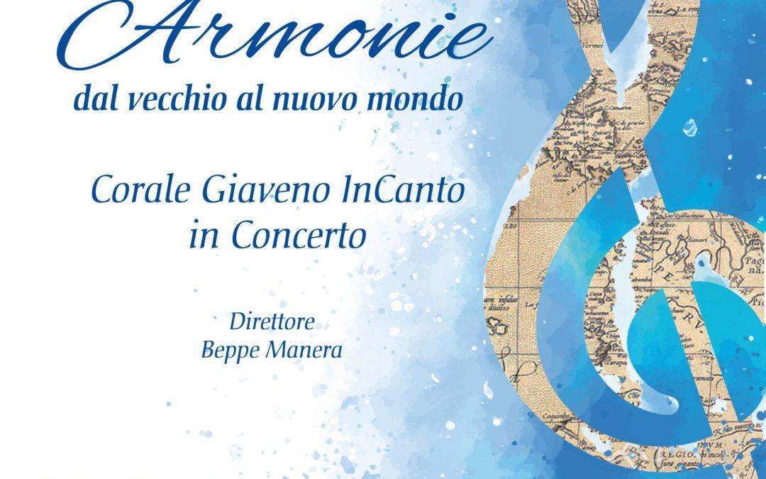Concerto Armonie dal vecchio al nuovo Mondo – Venerdì 23 febbraio 2020