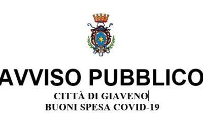 AVVISO PUBBLICO – BUONI SPESA COVID-19