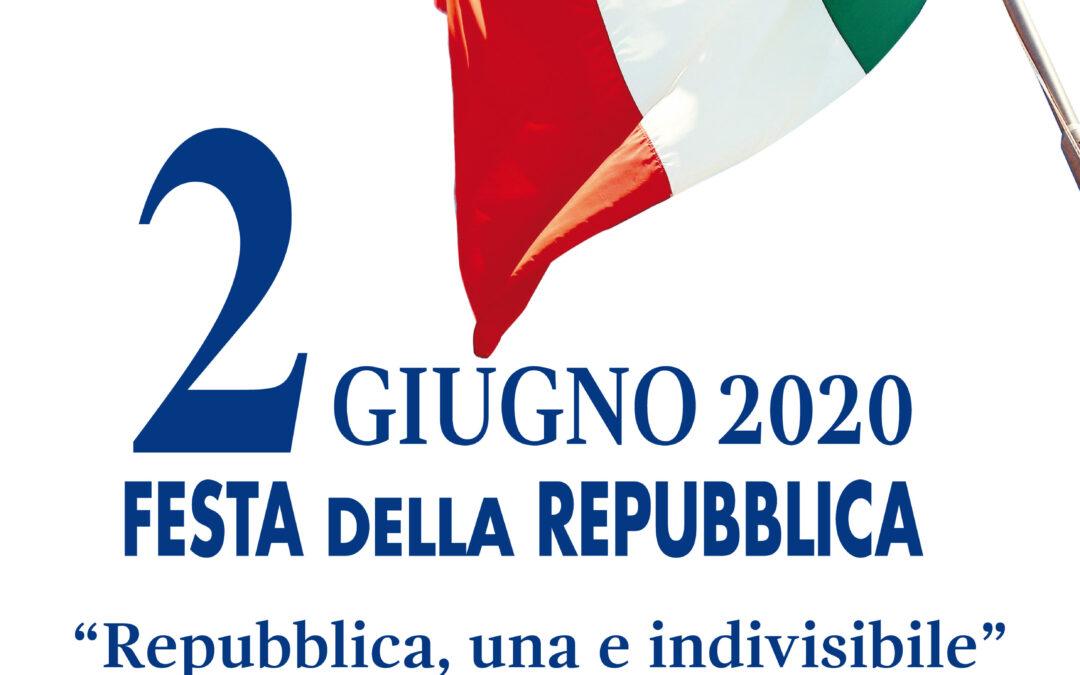 Anniversario  della Repubblica  – Festa del 2 Giugno 2020