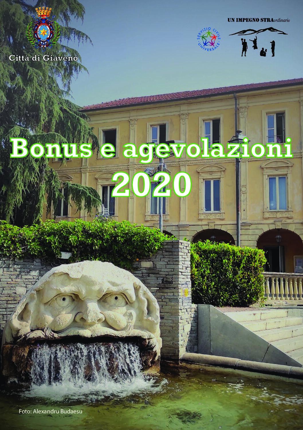Bonus e Agevolazioni 2020