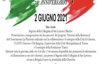 Festa della Repubblica – 2 giugno 2021