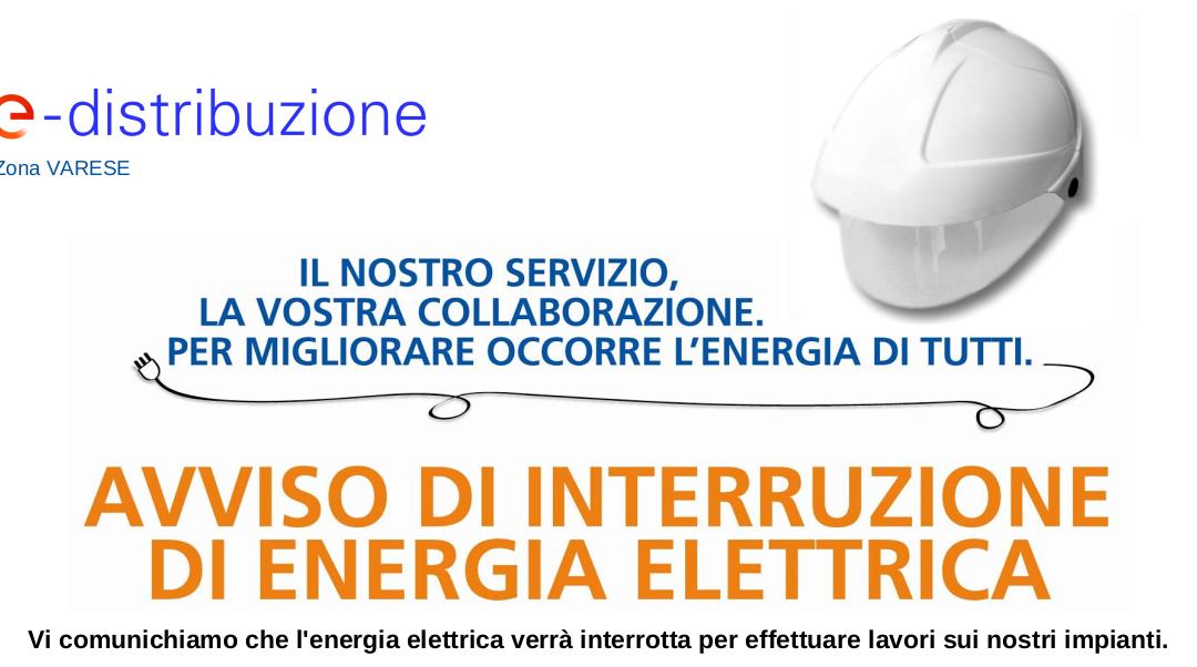 AVVISO – INTERRUZIONE ENERGIA ELETTRICA –  2 SETTEMBRE 2021