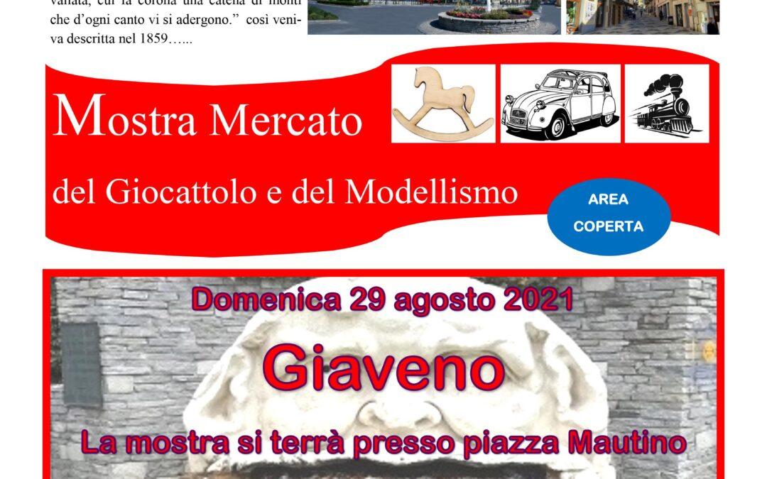 Mostra mercato del giocattolo e modellismo domenica 29 agosto 2021