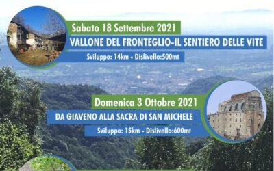 ESCURSIONE GUIDATA –  VALLONE DEL FRONTEGLIO – 18 SETTEMBRE 2021